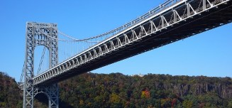 George Washington Bridge over the Palisades
