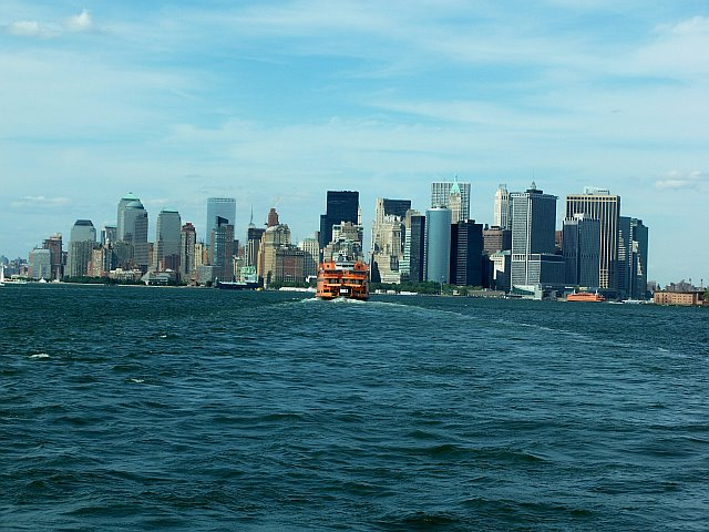 View of New York Harbor