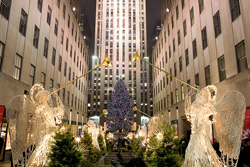 Rockefeller Center Christmas Tree Lights
