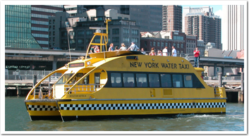 Picture of the boat used for the NYC Freedom Tour